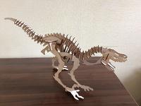 Динозавр из фанеры